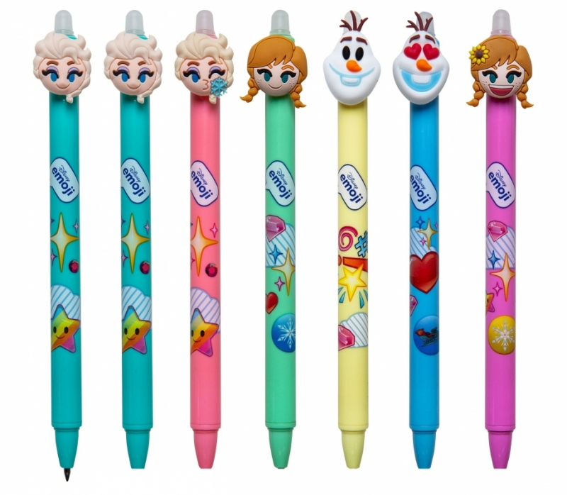 Długopis wymazywalny Kraina Lodu Emoji Disney