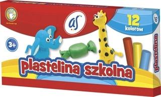 Plastelina AS 12 kolorów