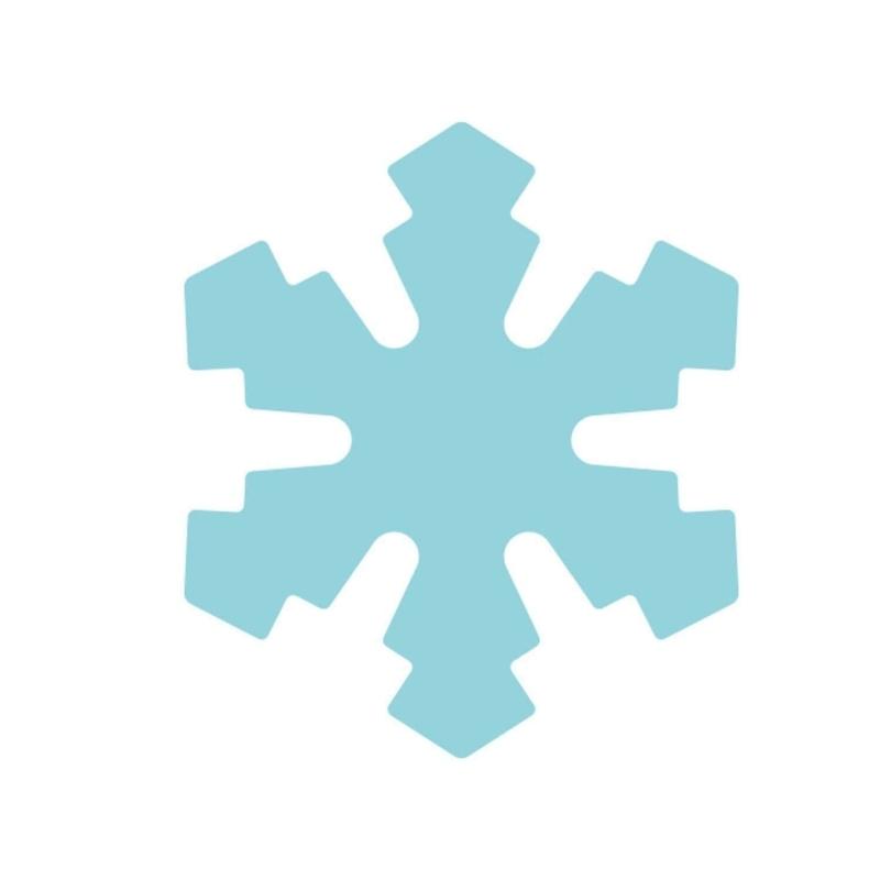 Dziurkacz ozdobny Śnieżynka 1,6cm HCP105 007