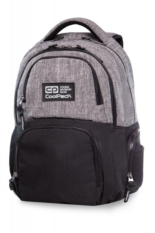 Plecak młodzieżowy Coolpack Aero Melange Grey