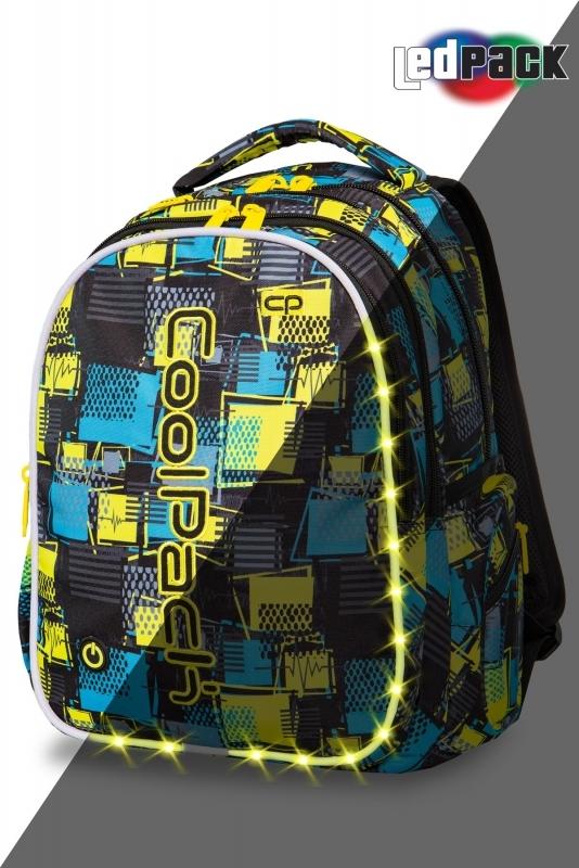 Plecak młodzieżowy Coolpack Joy L Squares Led