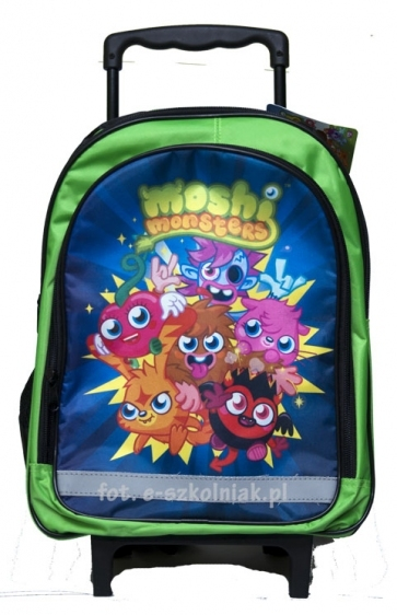 Plecak na kółkach Moshi Monster