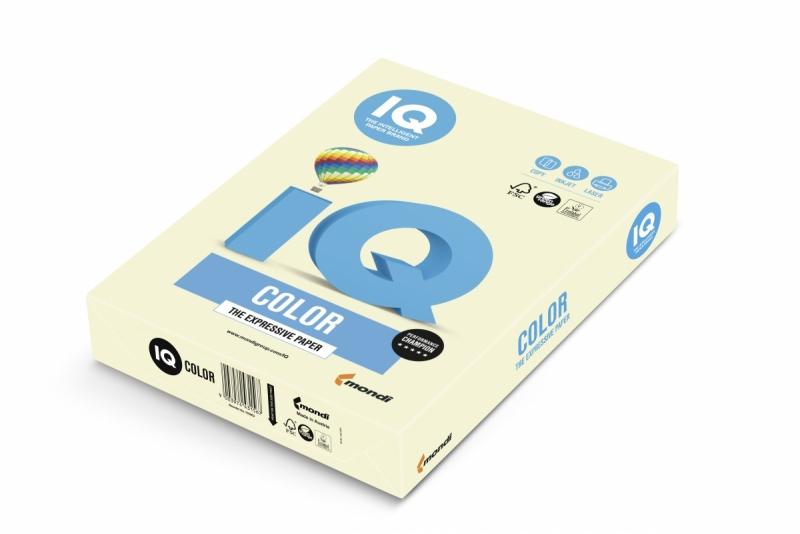 Papier ksero A4/500 80g IQ Color waniliowy