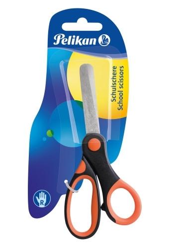 Nożyczki szkolne ergonomiczne Supersoft Pelikan