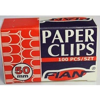 Spinacze biurowe Fian 50 mm