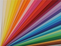 Brystol kolor grafit A4 170g/m2 JOY Happy Color