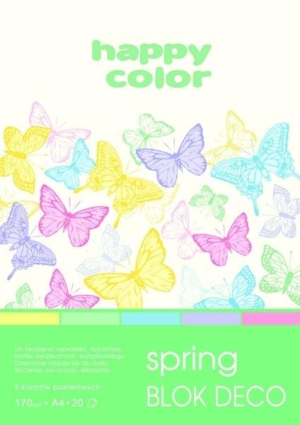 Happy Color blok kolor mix Spring A5/20 170g Deco