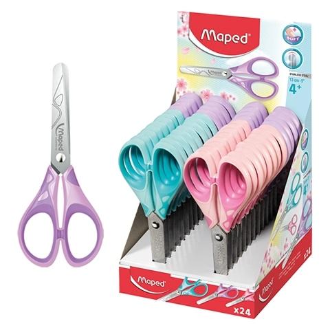 Nożyczki szkolne 13cm Essentials Pulse Soft pastel