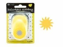 Dziurkacz ozdobny Słońce 2,5 cm Dalprint