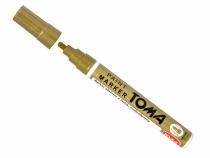Marker olejowy złoty TOMA TO-440 końcówka okrągła