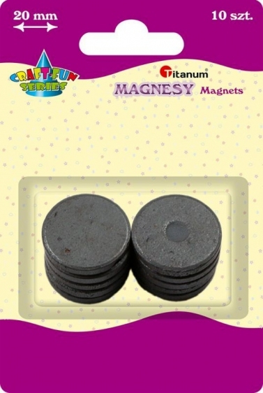 Magnes kreatywny okrągły 2cm A`10