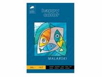 Blok malarski A4/10 200g Mały Artysta Happy Color