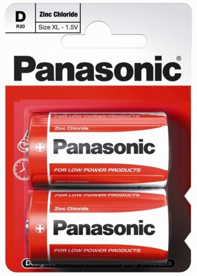 Bateria Panasonic Zinc Carbon R20 D 1 szt.