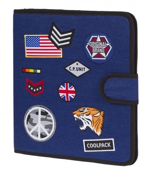 Teczka wielofunkcyjna Coolpack Badges Navy A413