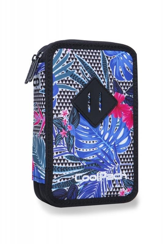 Piórnik podw. z wyp.Coolpack Jumper 2 Aloha Blue
