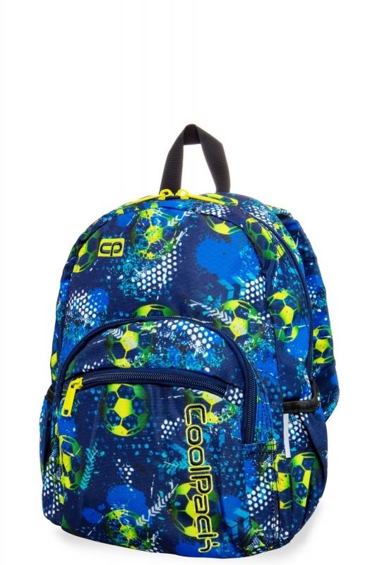 Plecak dziecięcy mini Coolpack Football Blue