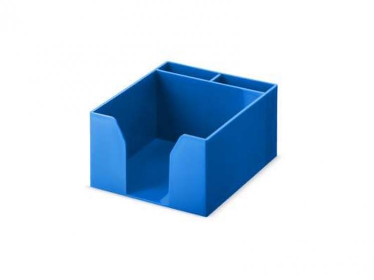 Pudełko przybornik na karteczki Versi-Color niebieski