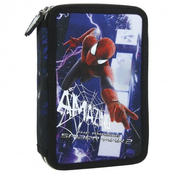 Piórnik dwukomorowy z wyposażeniem Amazing Spider-Man 19