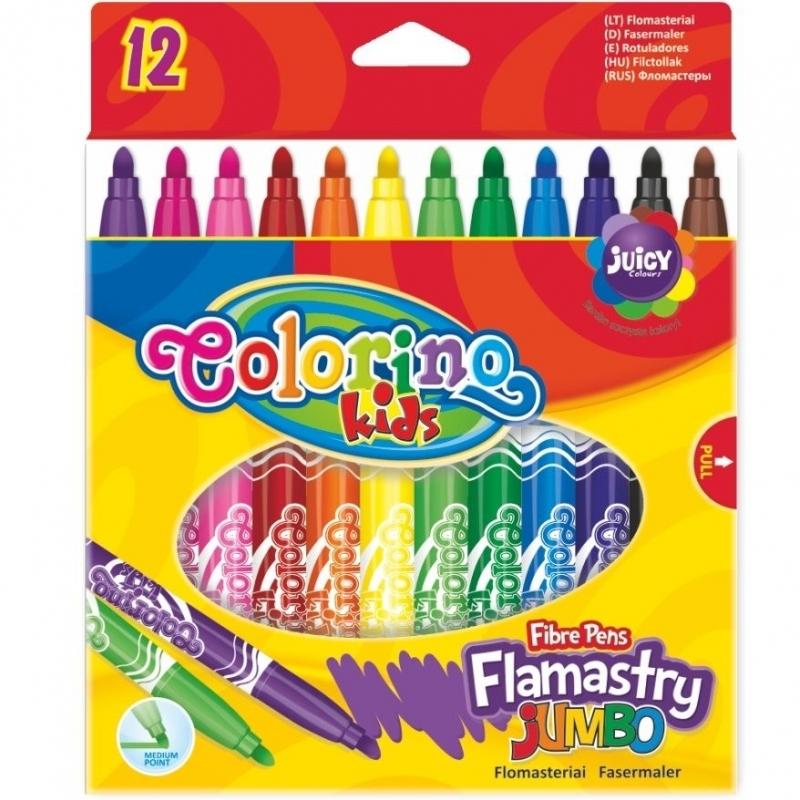 Flamastry 12 kol. JUMBO Colorino