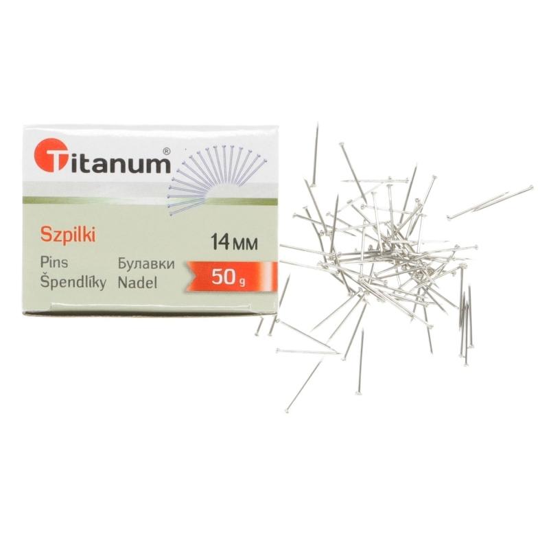 Szpilki kreatywne 14mm 50g Titanum