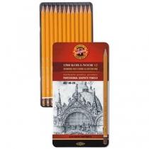 Zestaw ołówków Koh-I-Noor 8B-2H