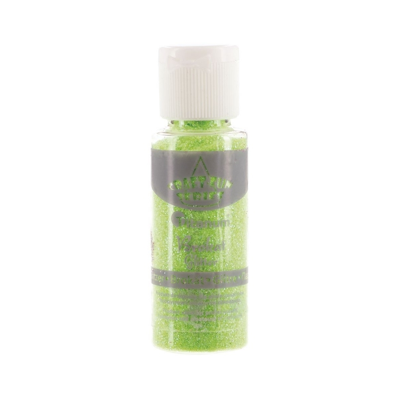 Brokat sypki zielony jasny neon 20ml