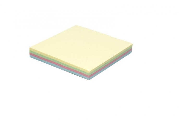 Notes samoprzylepny 75 x 75mm rainbow TRES