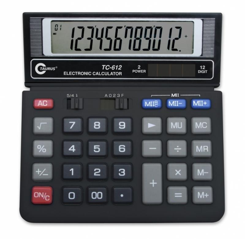 Kalkulator biurowy TC-612 Taurus
