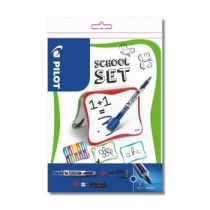 Zestaw szkolny tablica suchościeralna + 2 markery V-Board Pilot