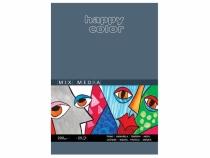 Blok artystyczny A4/25 200g MIX MEDIA Happy Color