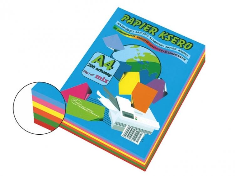 Papier ksero mix intensywny A4/200 80g