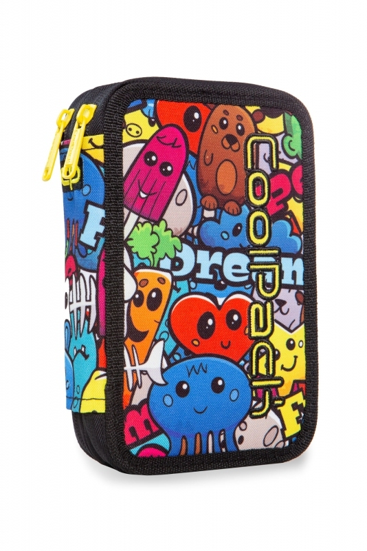 Piórnik podw. z wyp.Coolpack Jumper 2 Cartoon Led