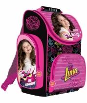 Tornister szkolny dla dziewczynki kasetonowy Soy Luna 1526