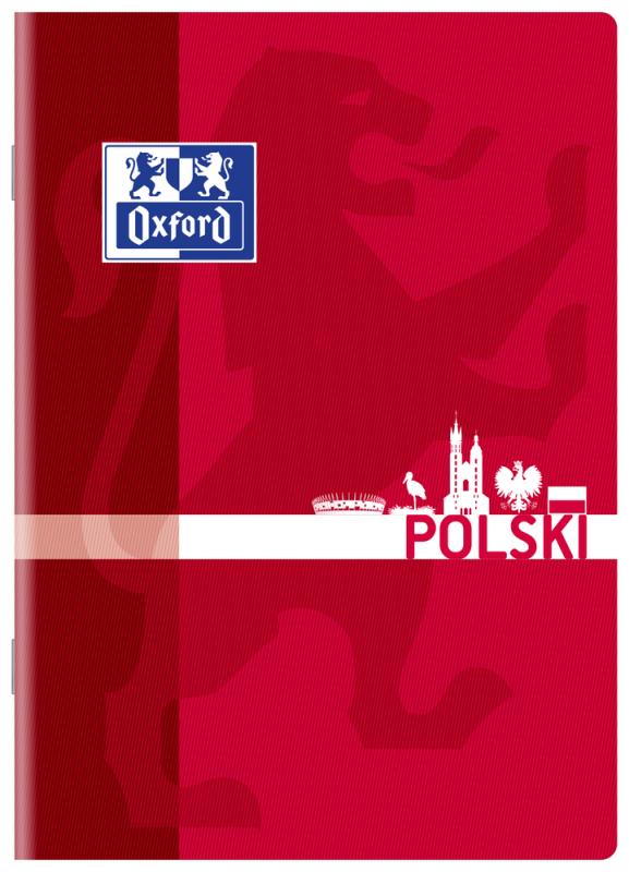 Zeszyt tematyczn A5 60k linia Język Polski Oxford