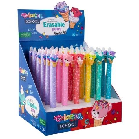 Długopis wymazywalny Ice Cream Colorino