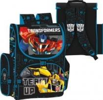 Tornister szkolny dla chłopca kasetonowy Transformers 0381