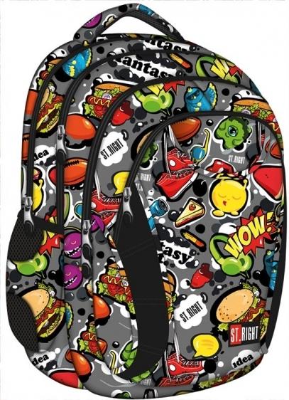 Plecak młodzieżowy St.Right Fast Food  BP2