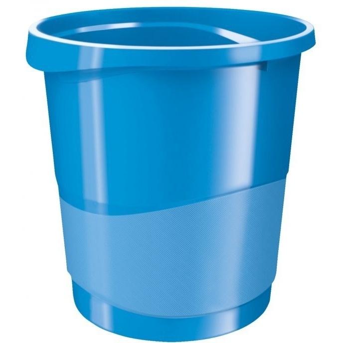 Kosz na śmieci ESSELTE EUROPOST VIVIDA 14l niebieski