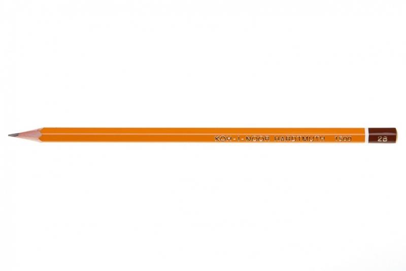 Ołówek techniczny 1500 2H Koh-I-Noor