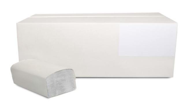 Ręcznik papierowy składany ZZ biały