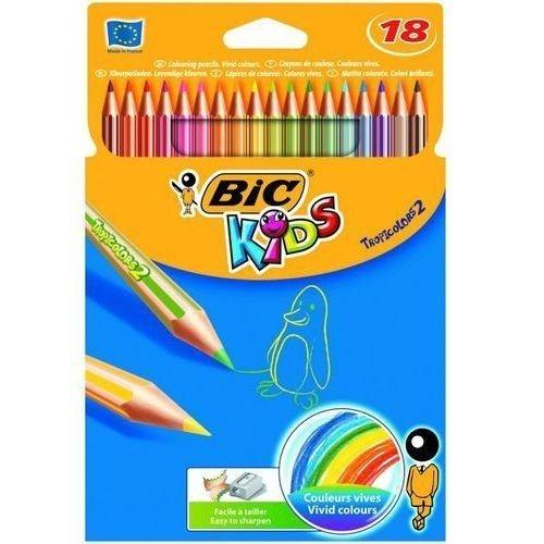 Kredki ołówkowe BIC 18 kol. TROPICOLORS 2