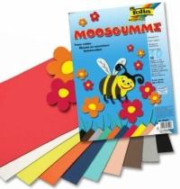 Arkusze piankowe kreatywne mix 10 kolorów A4