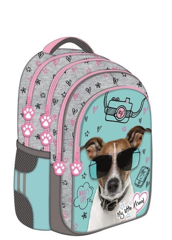 Plecak szkolny My Little Friend Dog St. Majews