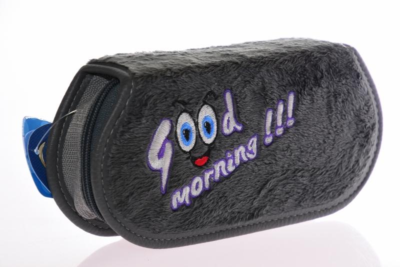 Piórnik jednokomorow Good Morning szary  WAR508
