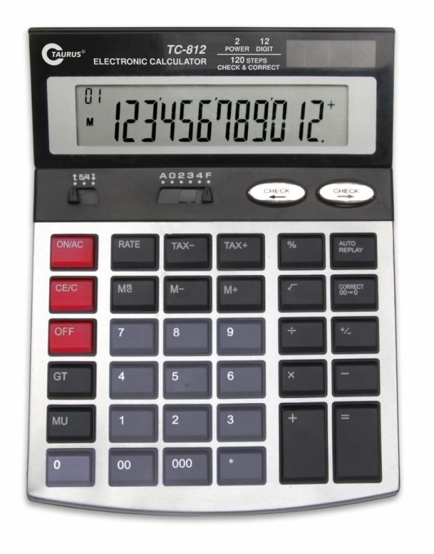 Kalkulator biurowy TC-812 Taurus