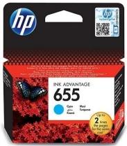 Tusz do drukarki  HP nr 655 błękitny CZ110AE