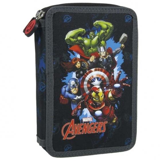 Piórnik dwukomorowy z wyposażenie Avengers 11