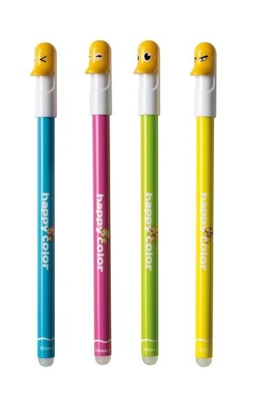 Długopis wymazywalny 0,5mm niebieski Kaczki HC