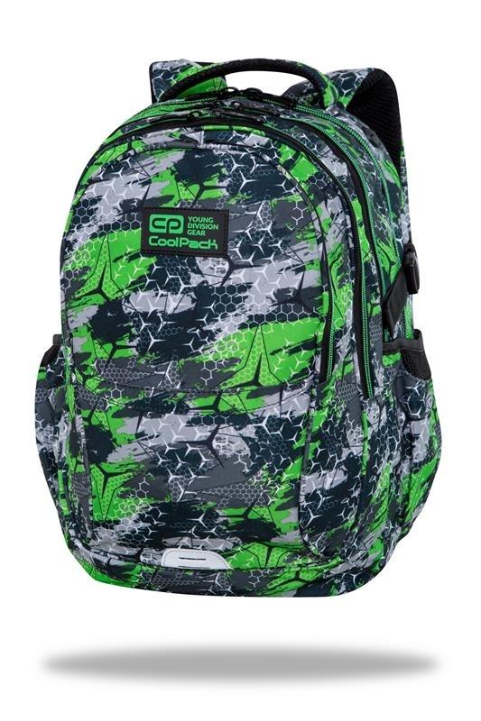 Plecak młodzieżowy Coolpack Factor Triogreen