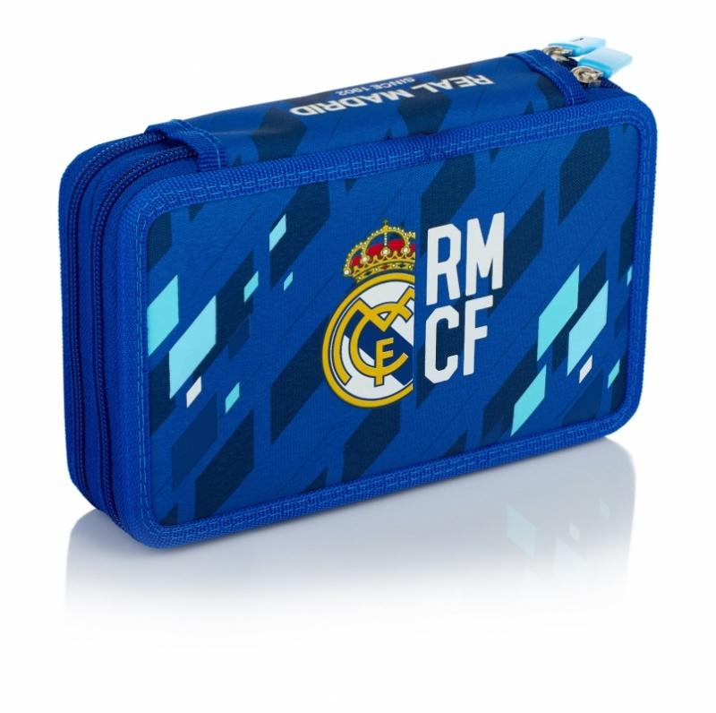 Piórnik podwój bez wyp Real Madrid 4 RM-135